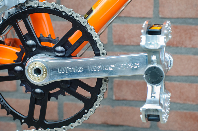 White Industries M30 cranks with VBC rings