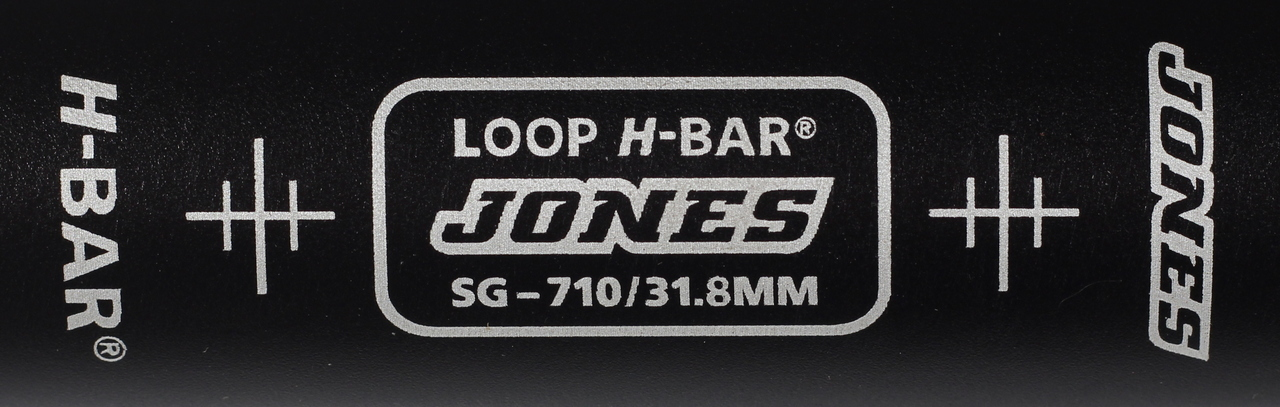 Jones Bikes SG Loop H-bar Clamp Area